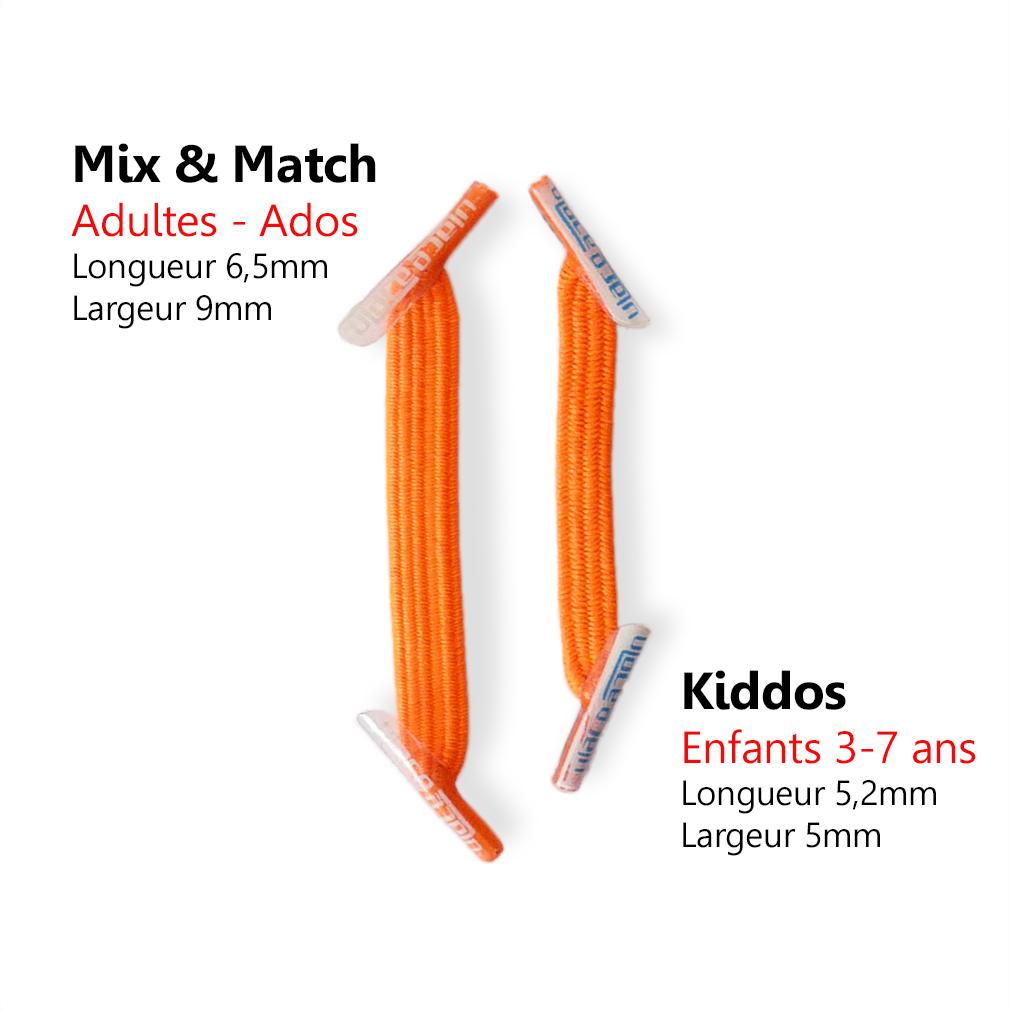 U-LACE-KIDDOS-NEON-ORANGE-lacets-elastiq